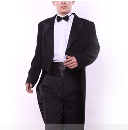 男式黑色燕尾服装出租