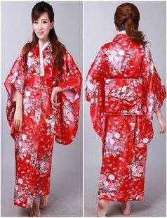 日本女士和服