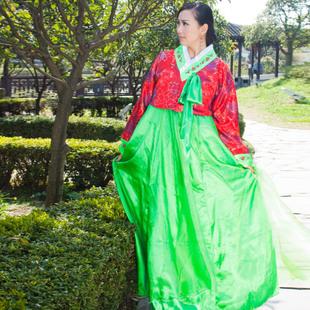 韩服―红绿色