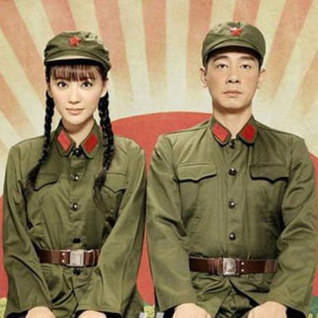 红卫兵服装出租