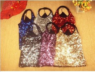 亮片的舞蹈服装,连衣裙