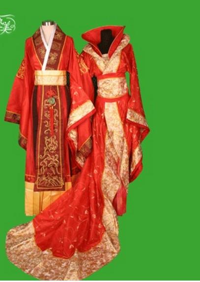 中式的结婚礼服