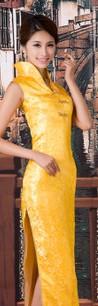长款旗袍,礼仪