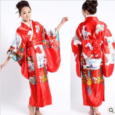 日本和服,表演