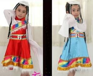 儿童藏族服