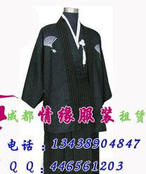 日本武士服装