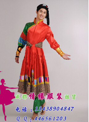 藏族男装民族服装
