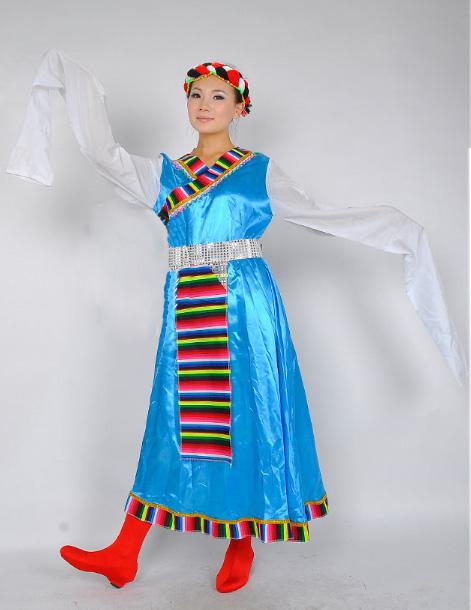 藏族服装,少数民族服装