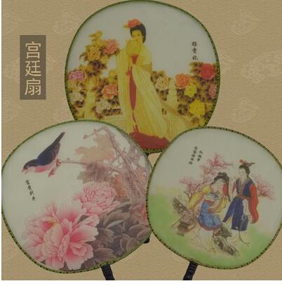 古代服装装的配饰―圆扇