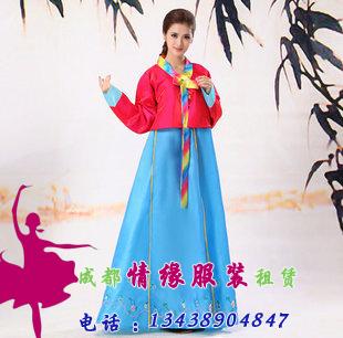 朝鲜族女式韩服