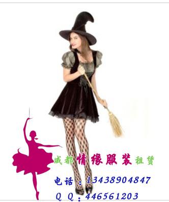 万圣节女巫魔女服装