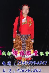 民族男式藏服