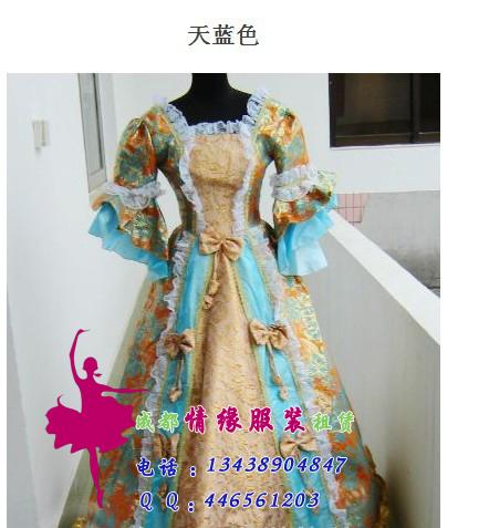欧式女式服装