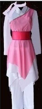 民间织女服饰
