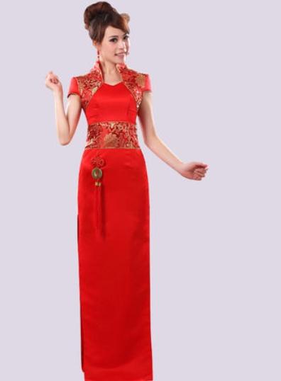 旗袍礼仪服
