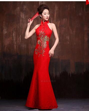 中式礼仪旗袍