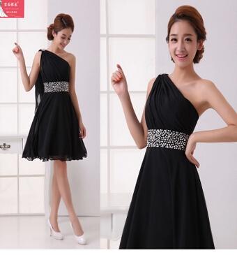 小礼服,黑色