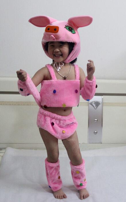 儿童卡通动物服装