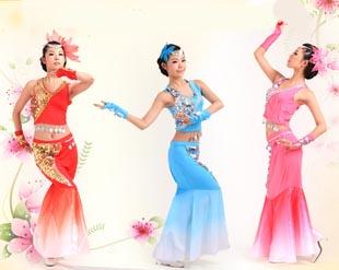 傣族舞蹈表演服饰