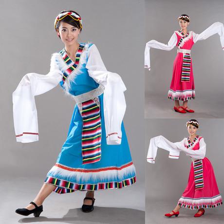 藏民族的舞蹈服饰