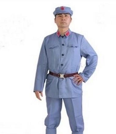 合唱红军服装