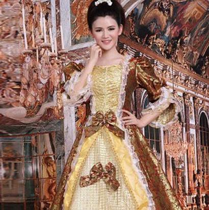 欧式女装土黄色款