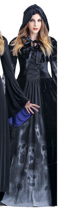万圣节女生服装